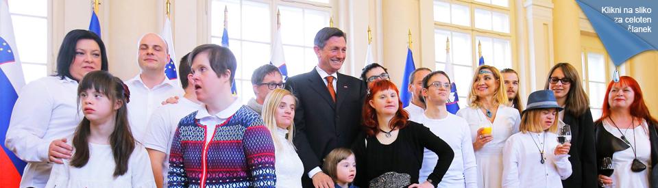 sprejem pri predsedniku republike g. Borutu Pahorju